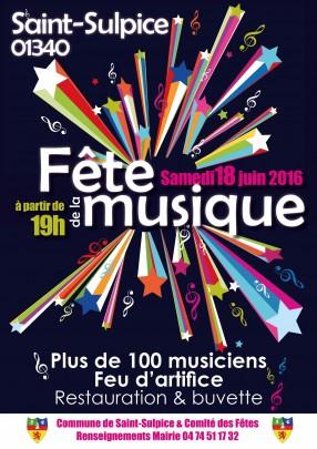 Fête de la musique de St-Sulpice
