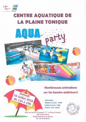 Aqua Party - Plaine Tonique