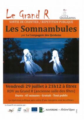 Sortie de chantier - Compagnie des Quidams - Les Somnambules