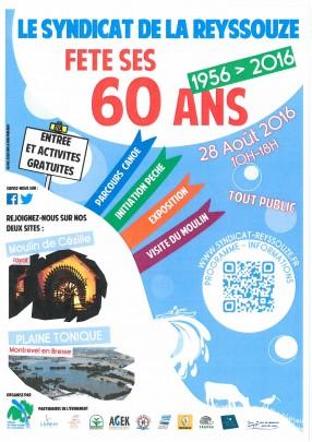 60 ans Syndicat de la Reyssouze