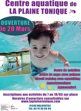 Ouverture - Centre aquatique