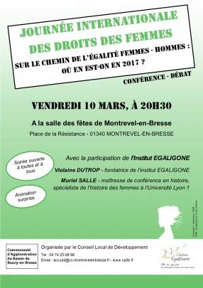Conférence - Journée internationale des droits des femmes