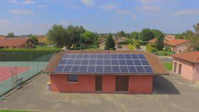 Inauguration de la première centrale photovoltaïque citoyenne bressane