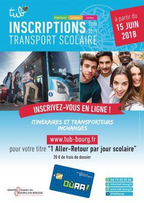 Inscriptions pour les transports scolaires 2018/2019