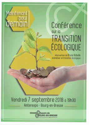 Conférence sur la transition écologique