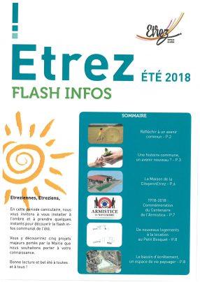 Flash infos - Eté 2018