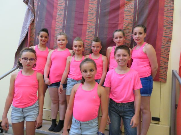 Groupe des 10-11 ans Gala 2018