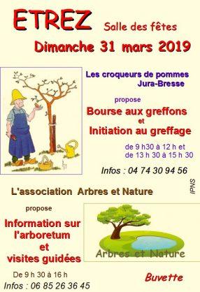 Bourse aux greffons et informations sur l'arboretum